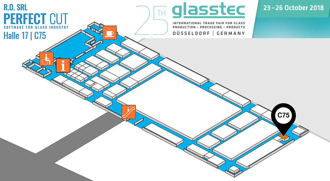 Glasstec Hall Plan 2018